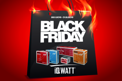 Black Friday IQWATT – Управляй теплом
